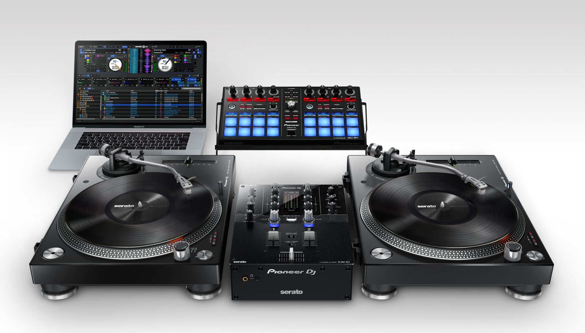 The Pioneer Dj Djm S3 Serato Dj Mixer Looks Familiar