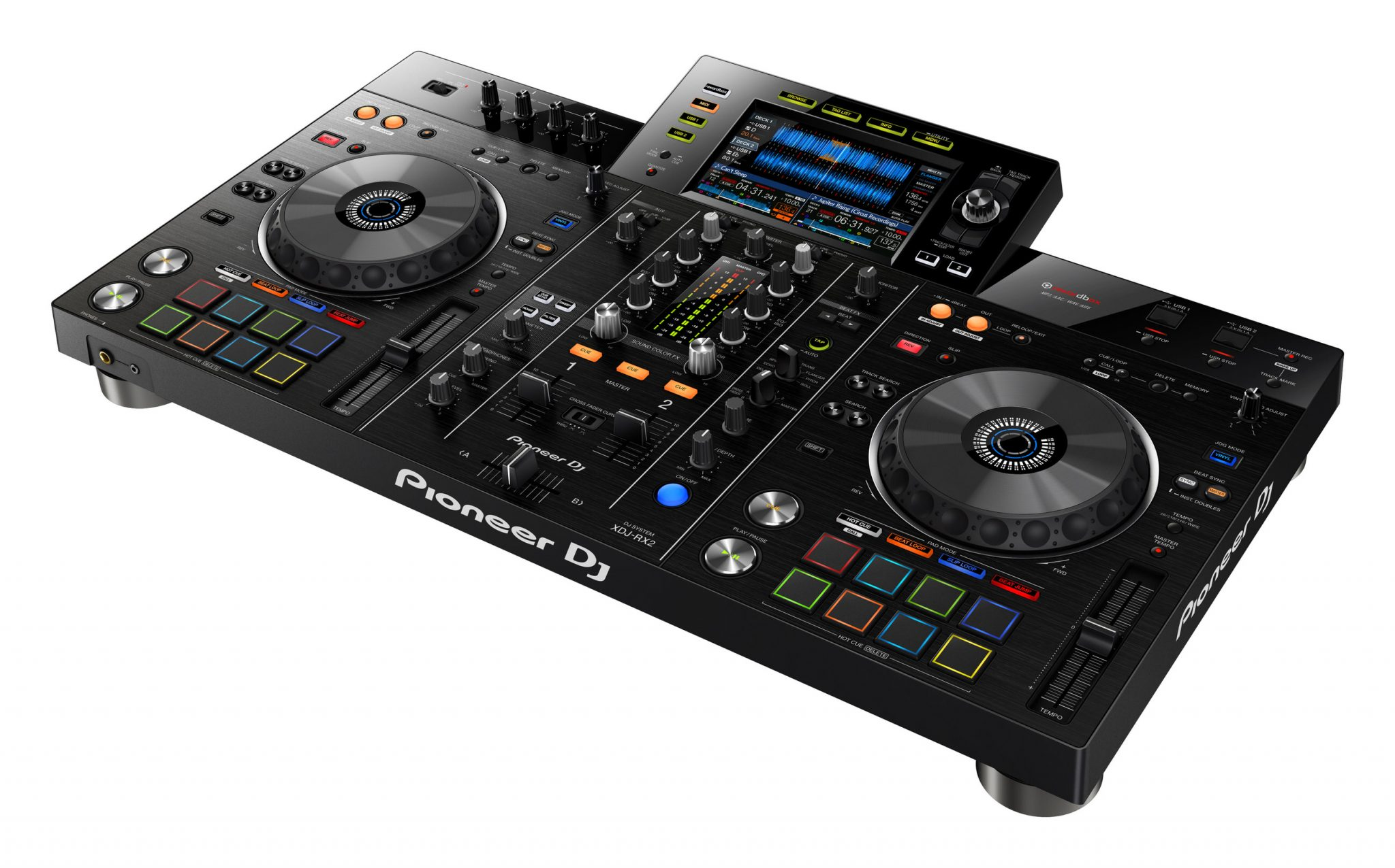 after speculation and leaks the pioneer dj xdj rx2 is. Black Bedroom Furniture Sets. Home Design Ideas