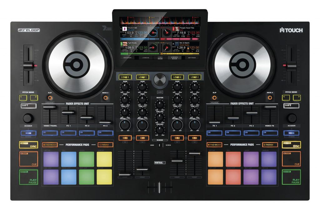 Reloop TOUCH VirtualDJ controller (1)