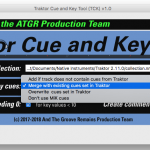 ATGR TCK Main Screen