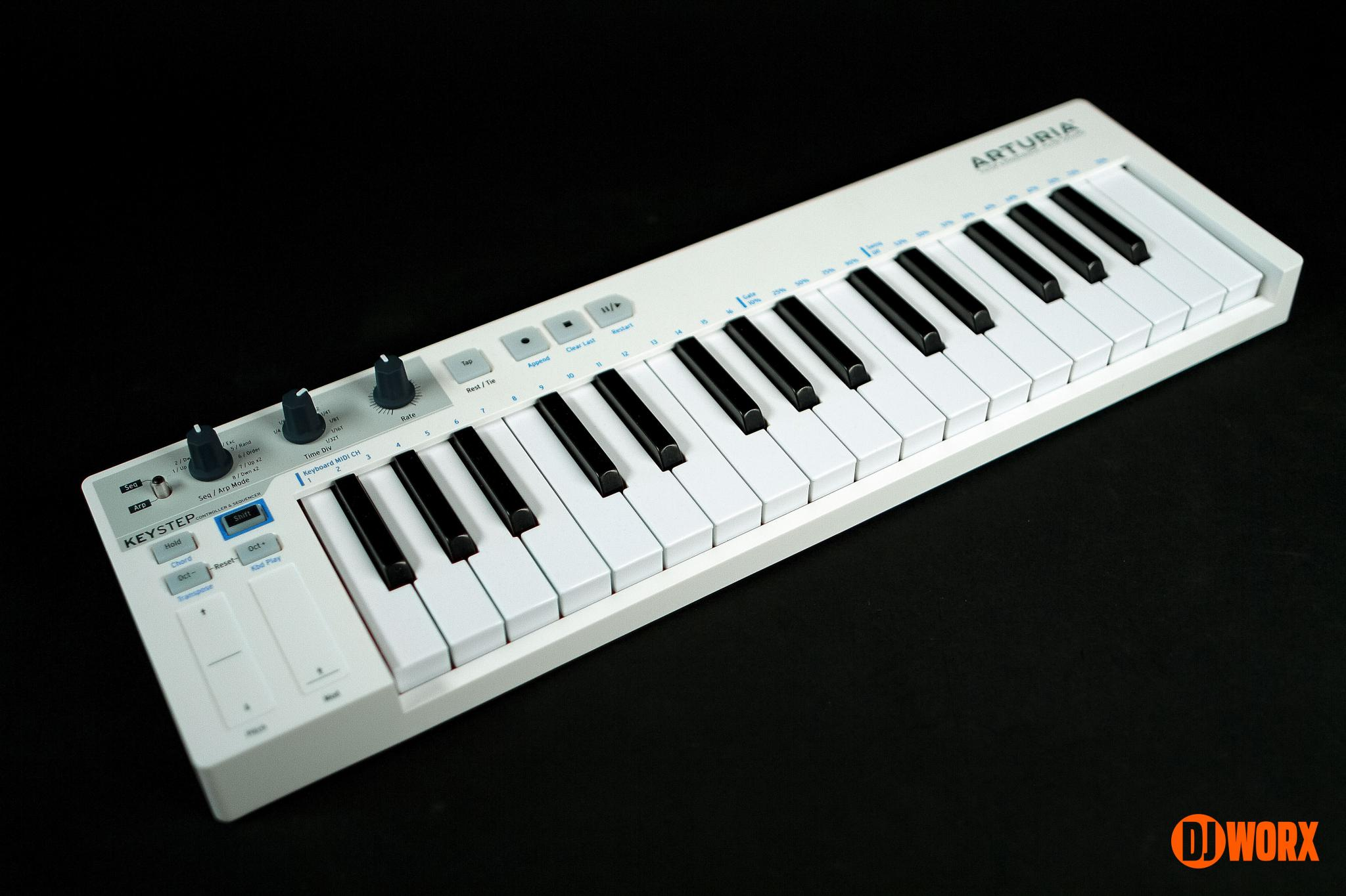 Arturia KeyStep keyboard controller reviewDJ (14)