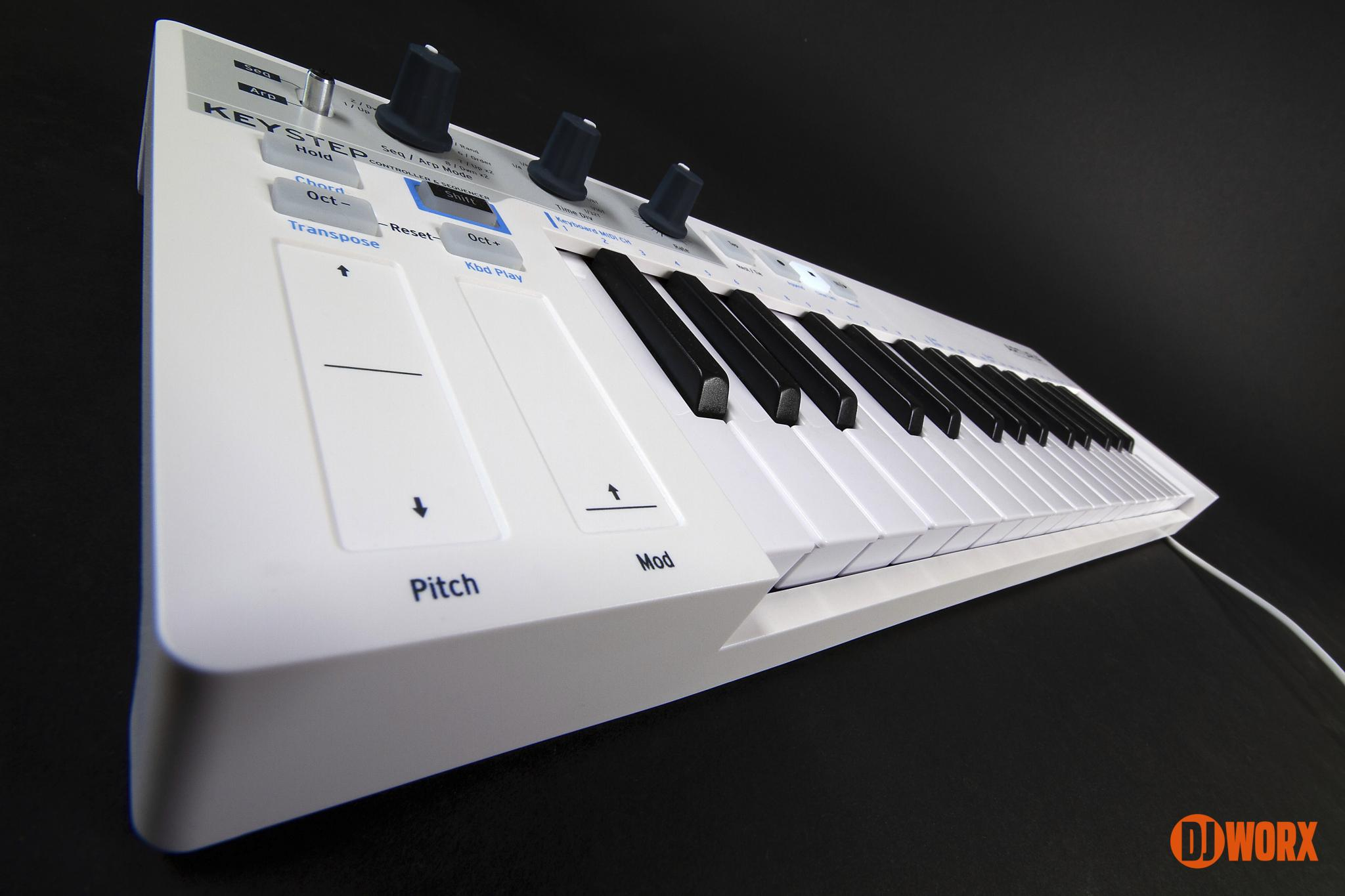 Arturia KeyStep keyboard controller reviewDJ (8)