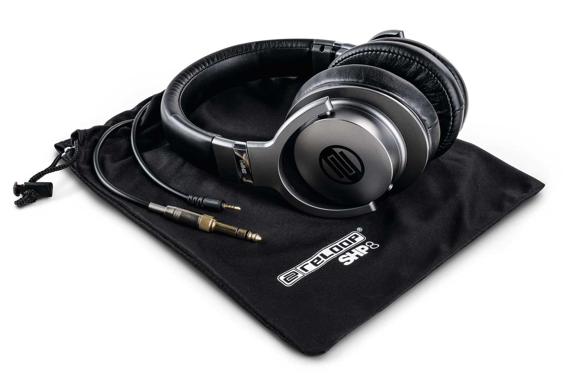 Reloop SHP-8 headphones DJ studio production (2)
