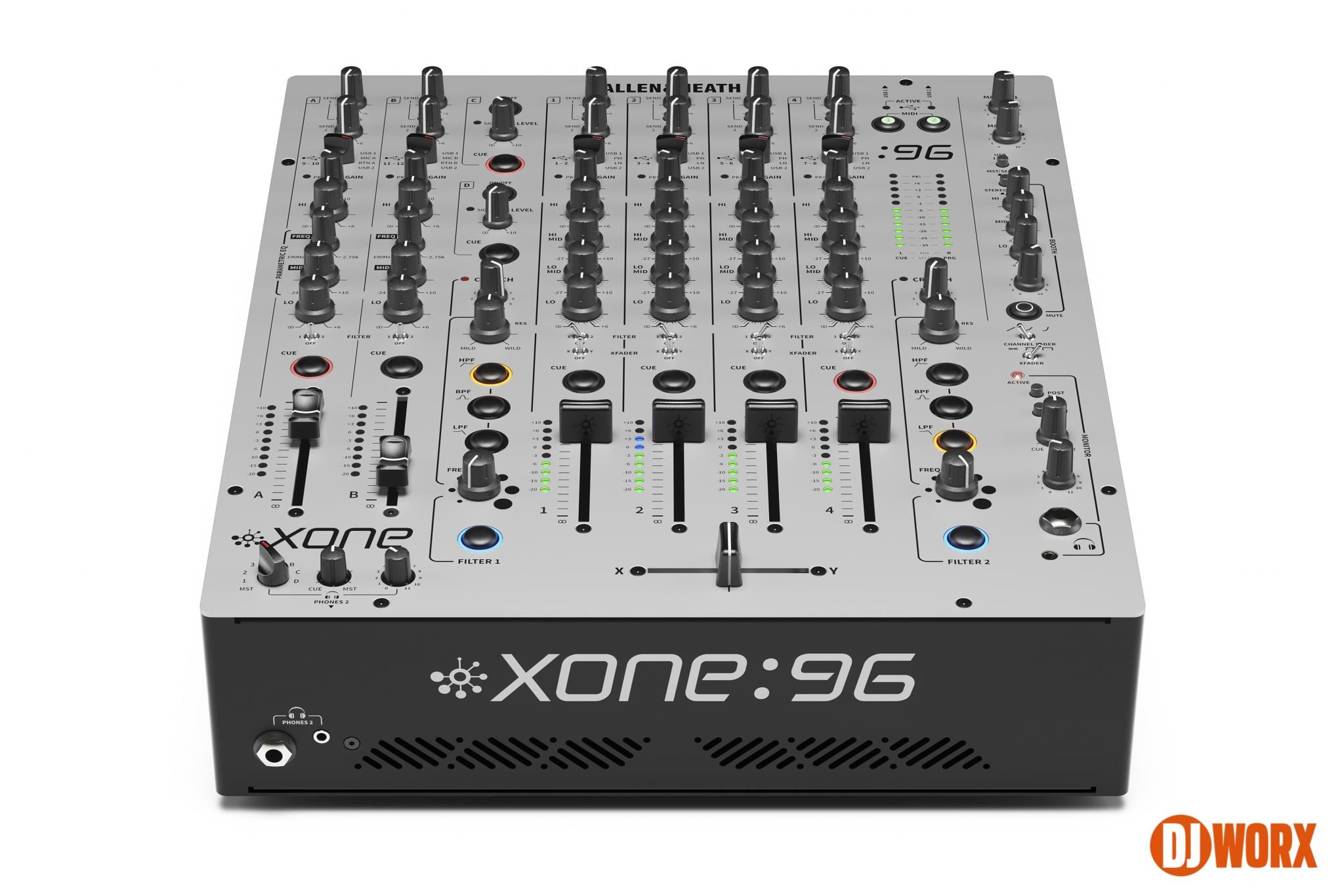 REVEALED: Allen & Heath Xone:96 aka Xone:92 mk2 4