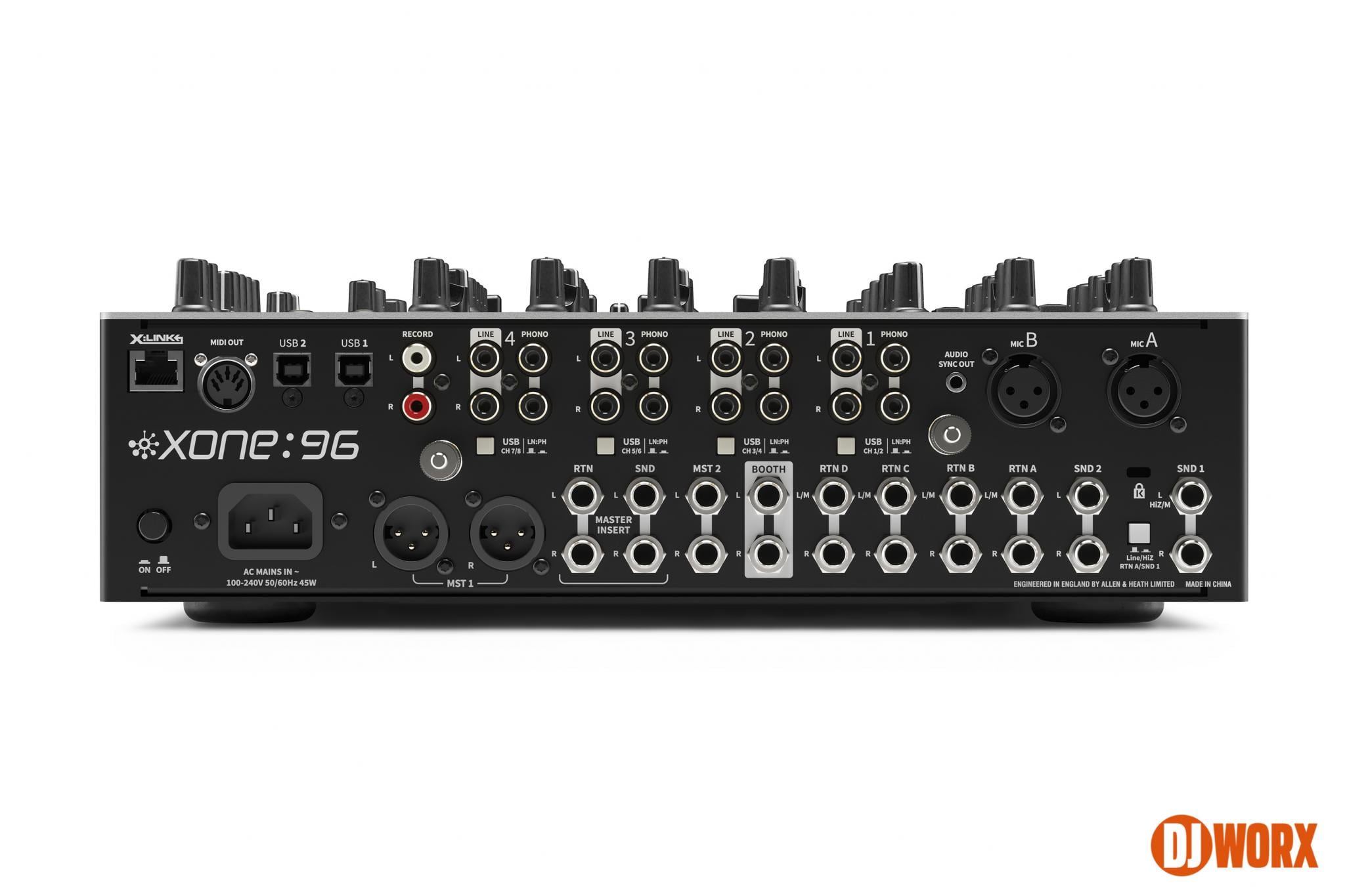 REVEALED: Allen & Heath Xone:96 aka Xone:92 mk2 3