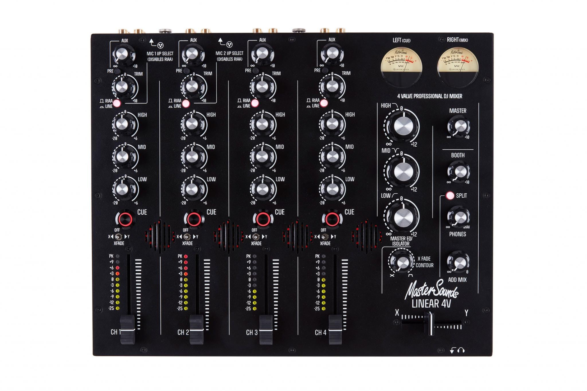 Mastersounds Linear 4V rotary mixer