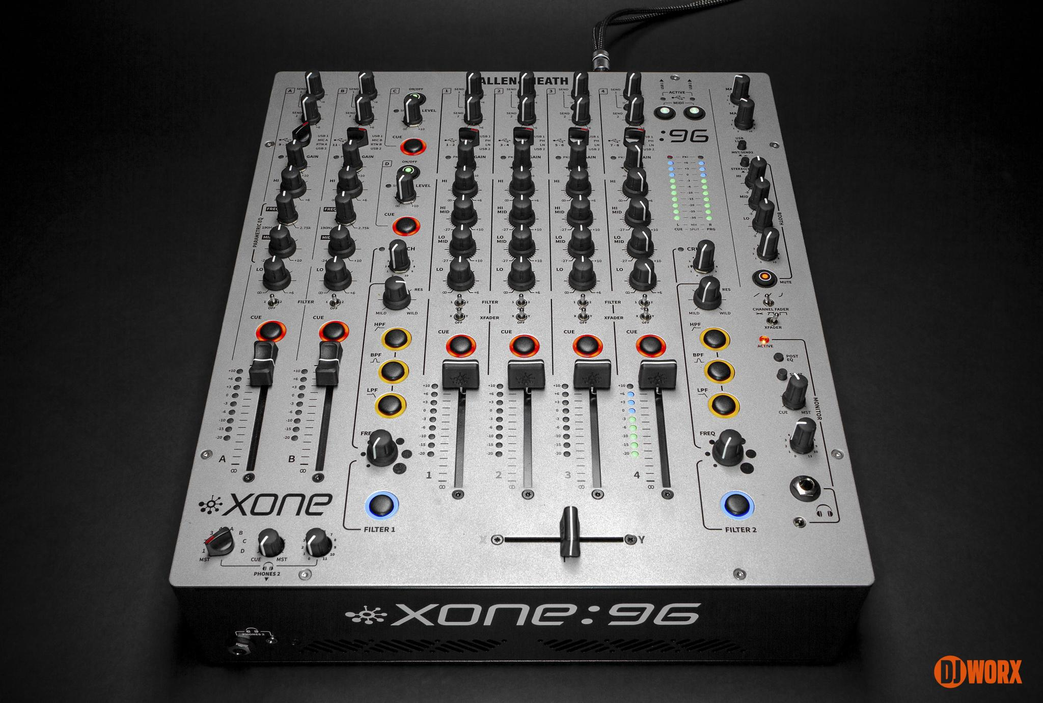 Allen & Heath Xone:96 mixer review first look preview (6)