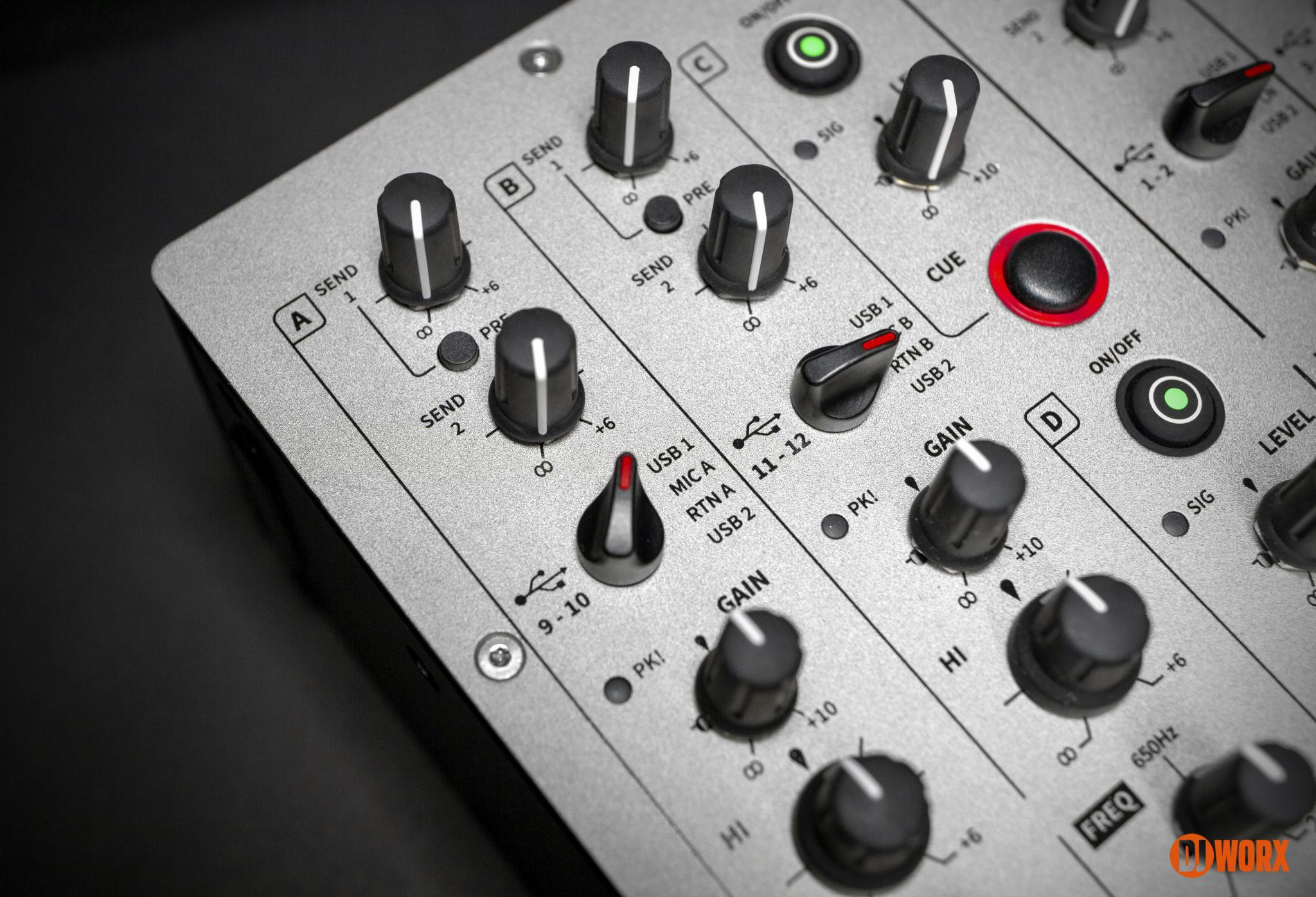 Allen & Heath Xone:96 mixer review first look preview (9)