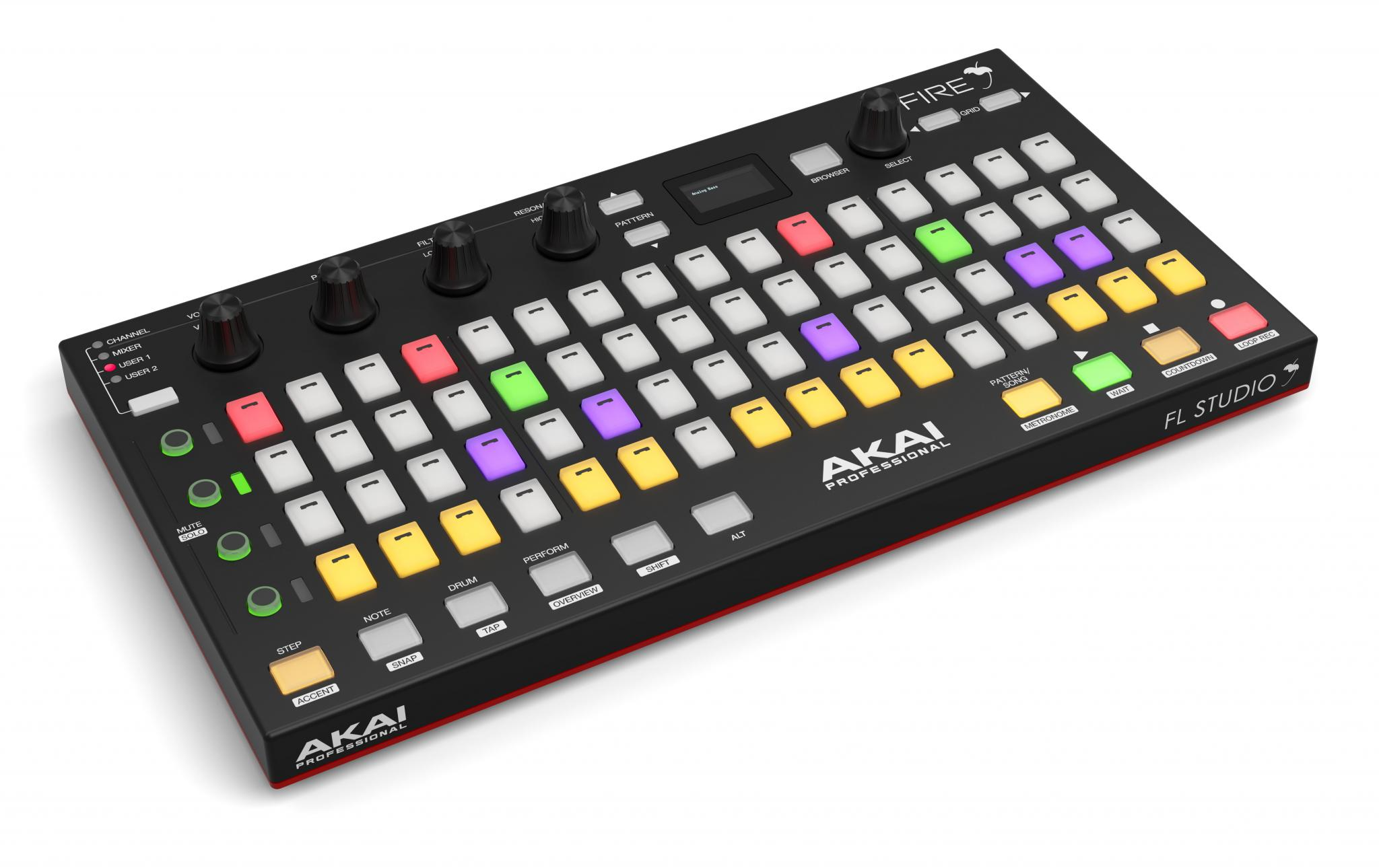 The FL Studio fuelled and splendidly named Akai Fire | DJWORX
