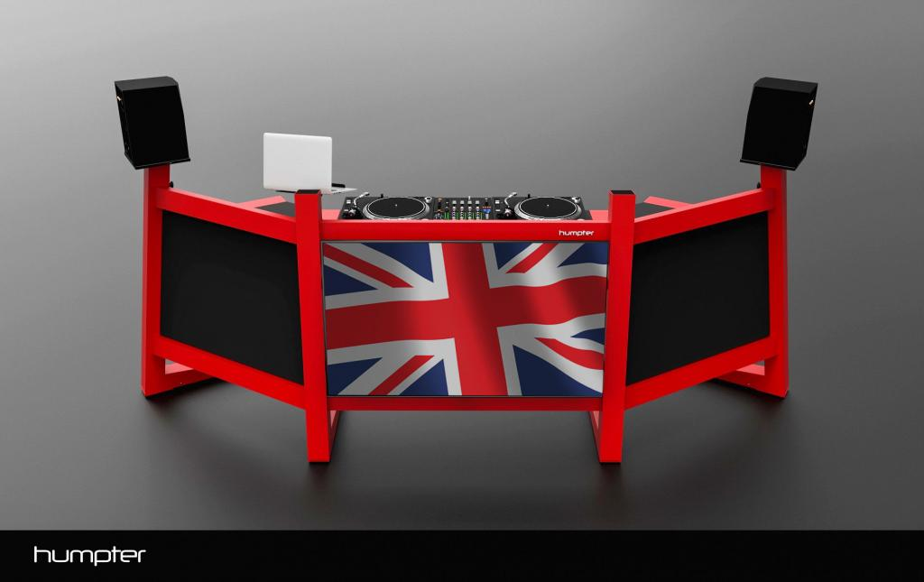 Humpter Pro console red UK distributor