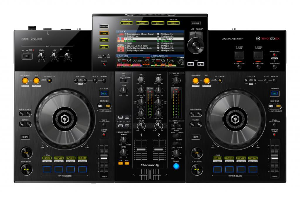 Pioneer D XDJ-RR entry level all in one Rekordbox DJ controller (11)