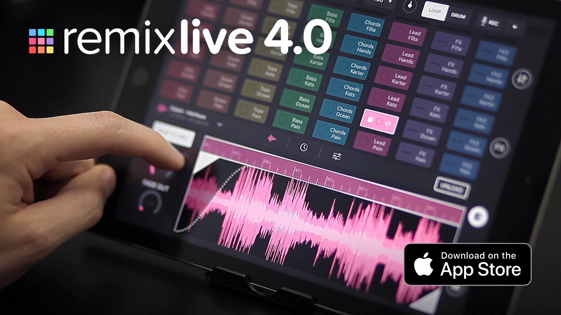 Mixvibes Remixlive 4 — play samples and edit them too 9