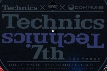 Technics technics7th CES 2019 DJ event stream boiler room