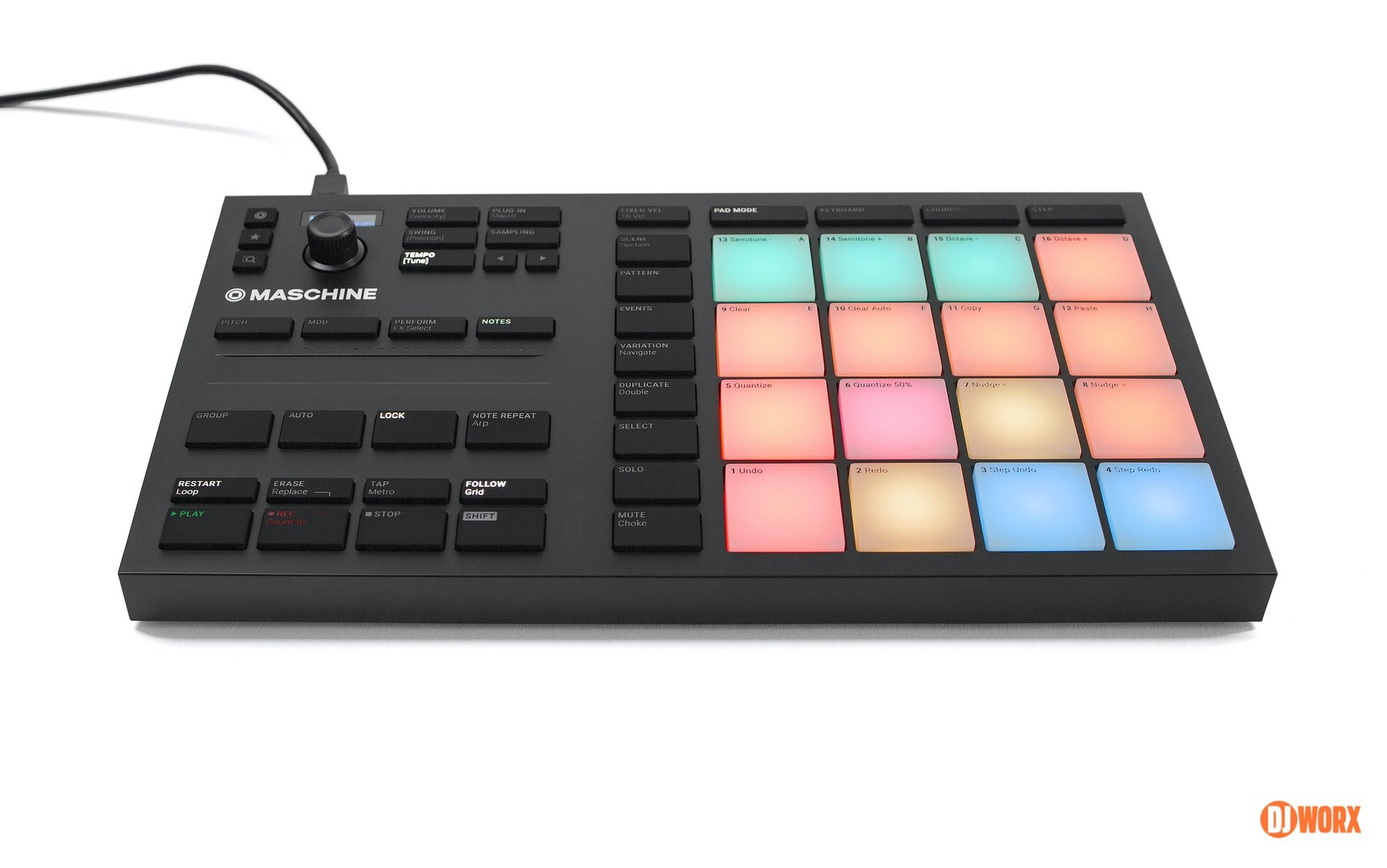Native Instruments Maschine Mikro mk3 review DJWORX DJ (10)