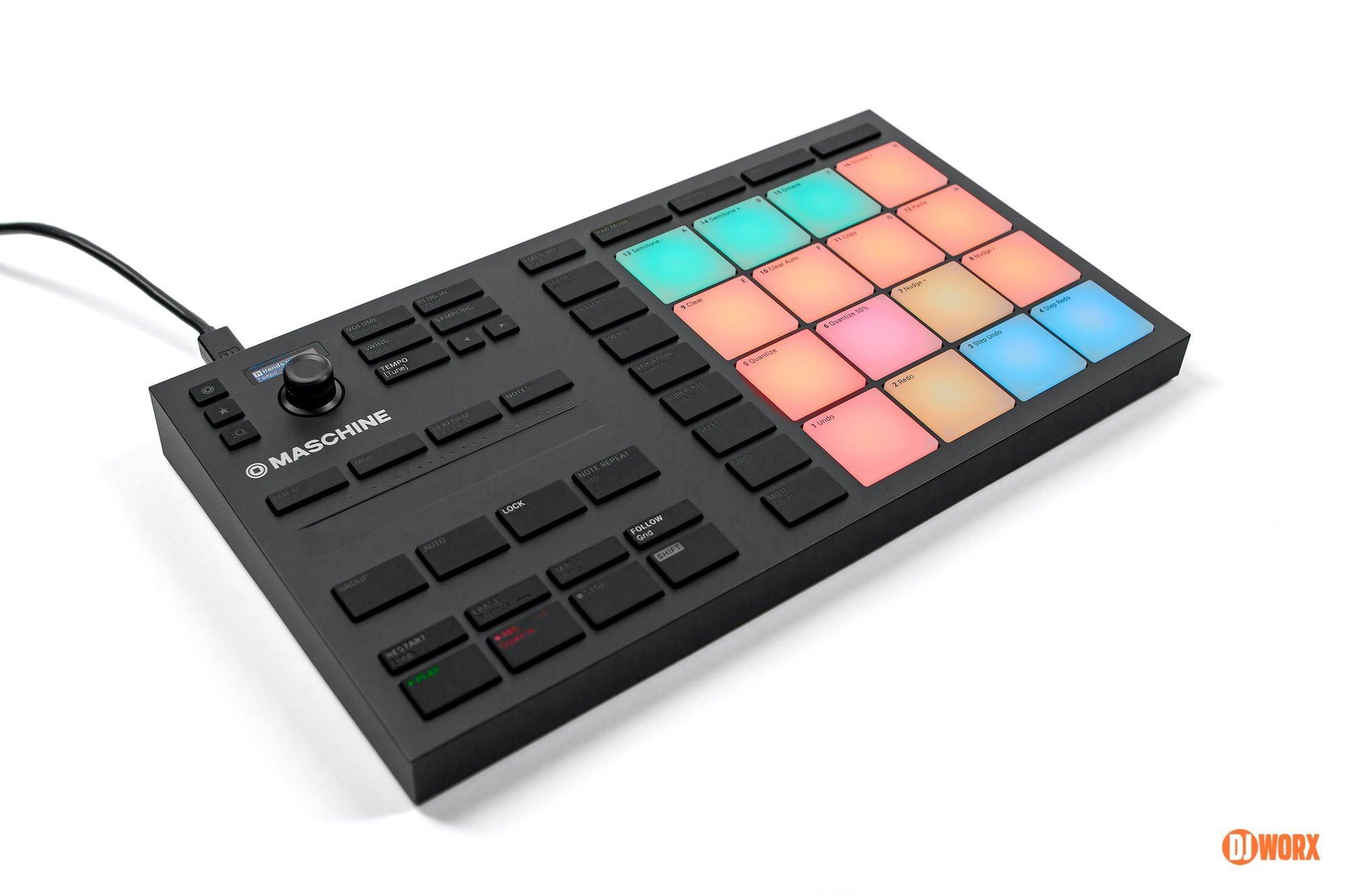 Native Instruments Maschine Mikro mk3 review DJWORX DJ (9)