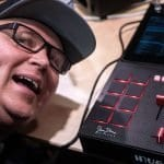 Jesse Dean Hard Rich Thud Rumble Invader DVS mixer NAMM 2019 (2)