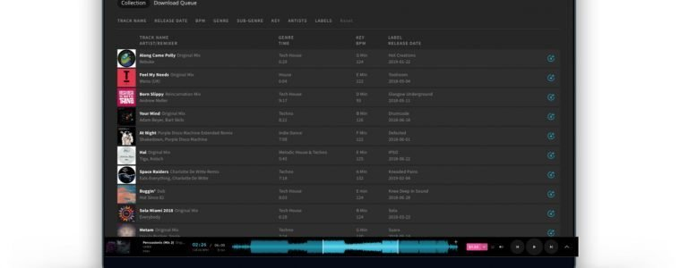 Listen to all the tunes with Beatport LINK 2