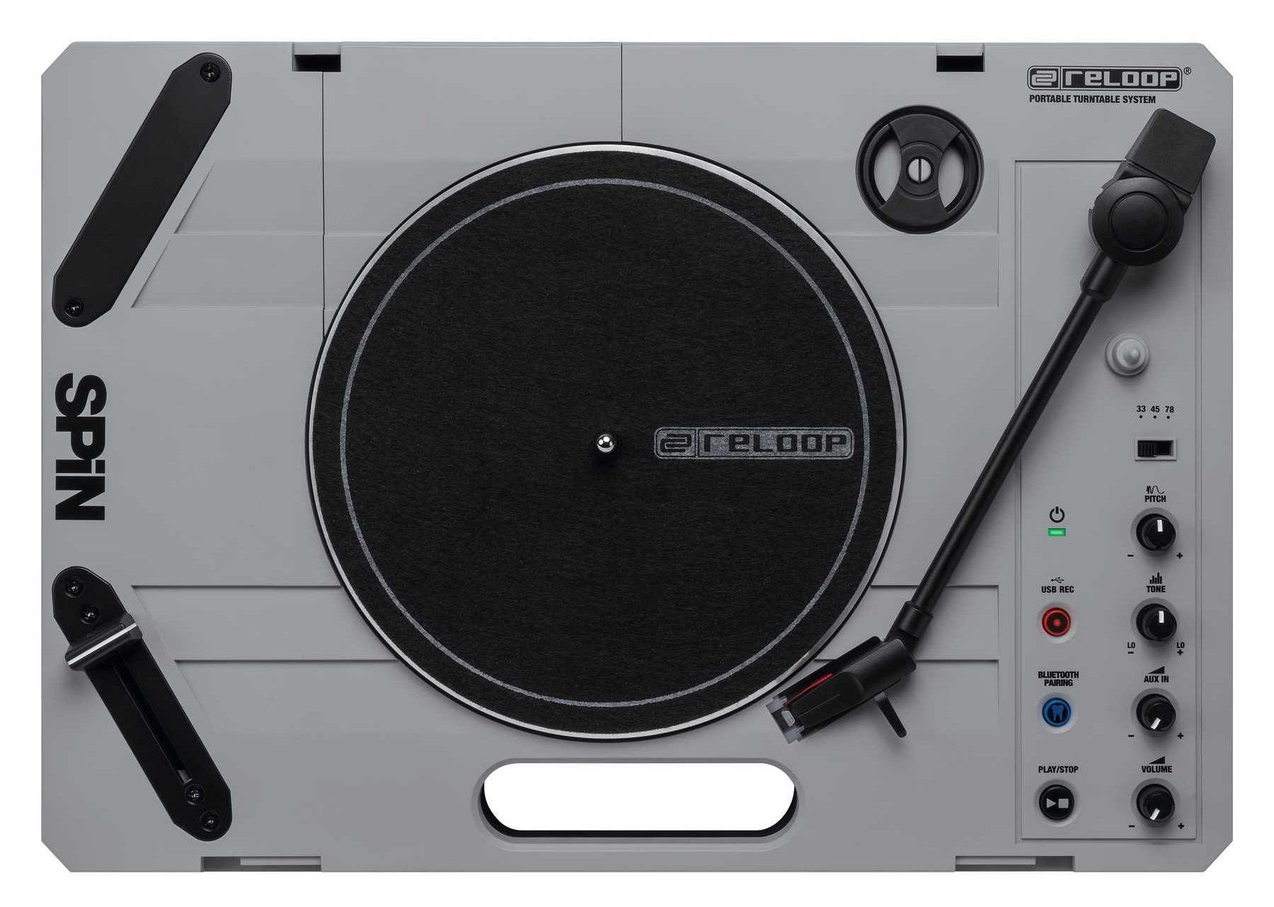 Reloop Spin portablist turntable Vestax Handy Trax (1)