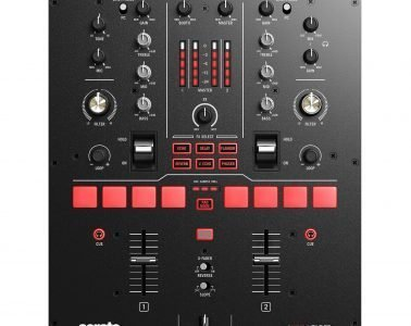Numark Scratch Serato DJ Pro DVS mixer with mini Innofader (2)