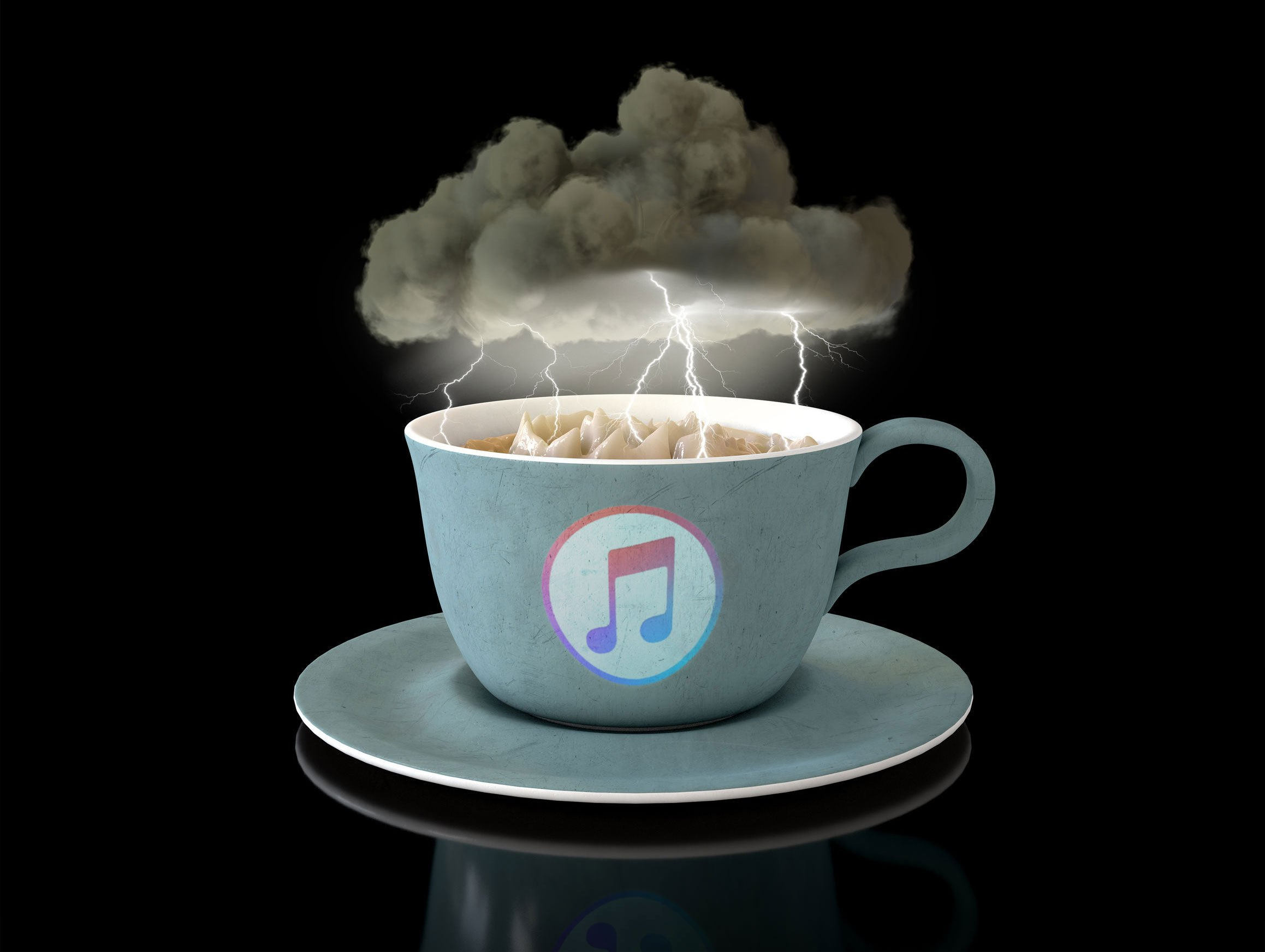 itunes closed dead over storm in a teacup