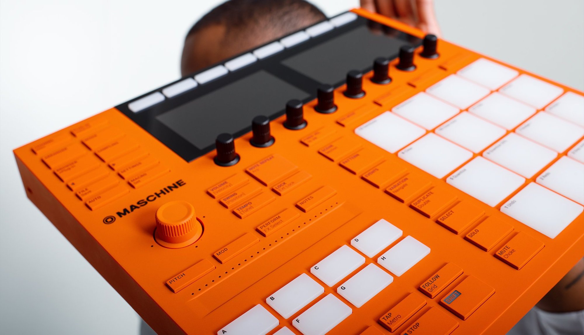 Native Instruments Machine MK3 emkay 3 10th birthday anniversary orange (9)