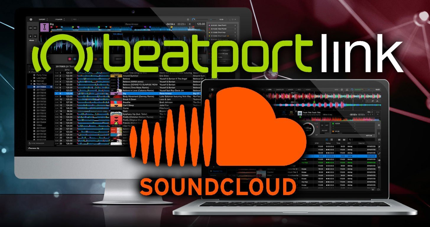 rekordbox soundcloud beatport link