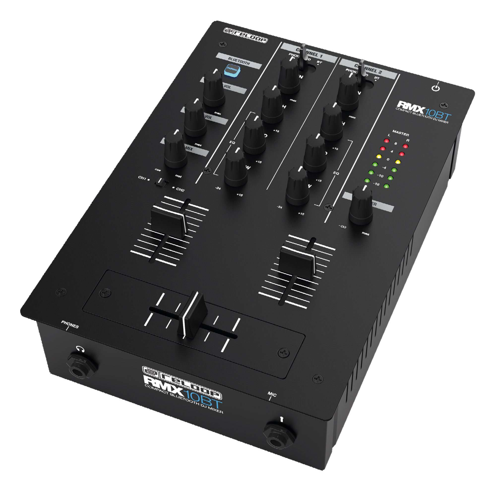 Reloop RMX-10 BT Bluetooth Mixer (1)