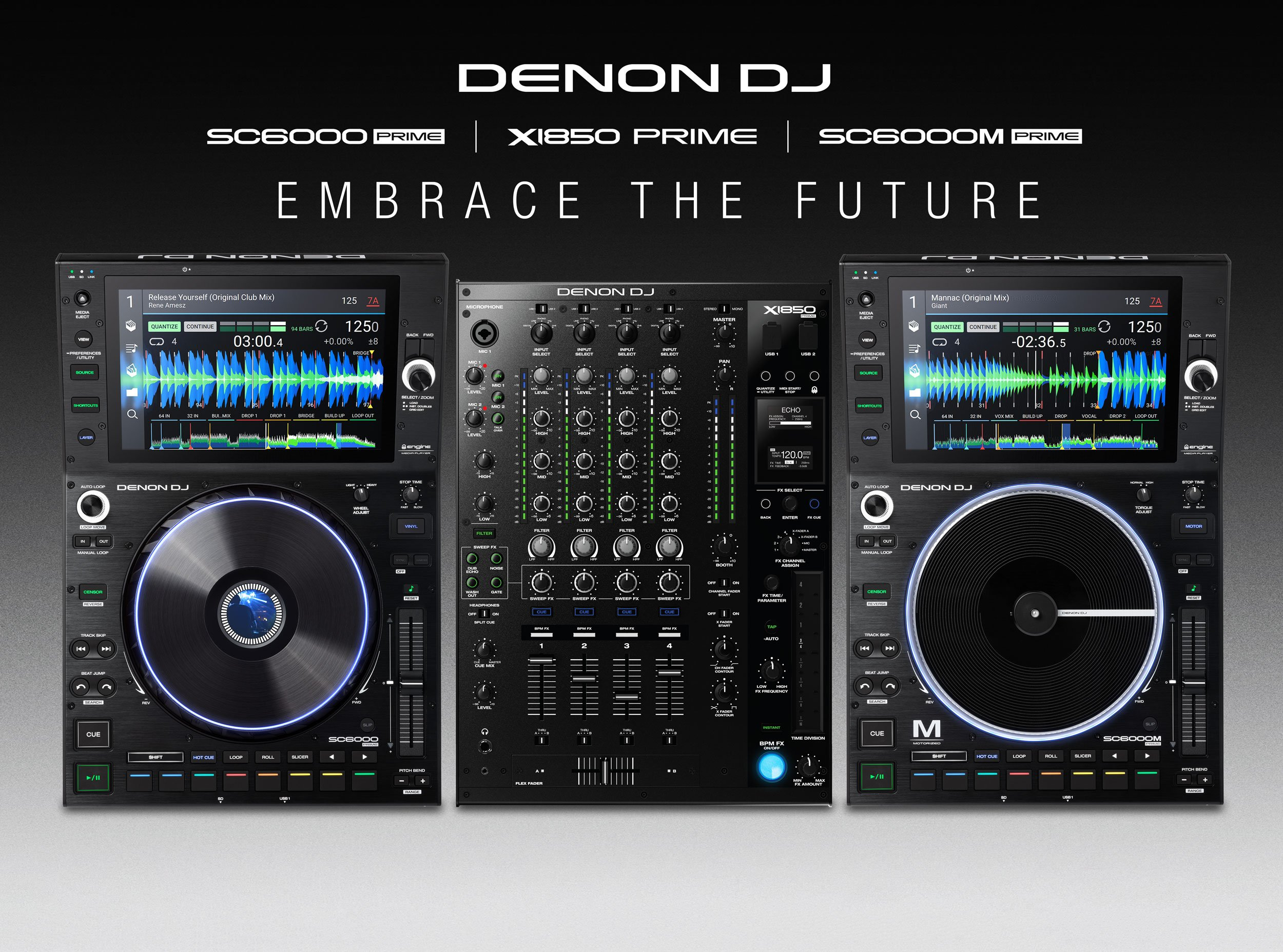 Denon DJ turnt up to 11 — the SC6000, SC6000M, and X1850 Prime 4