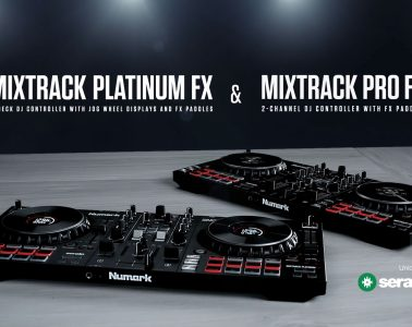 The Numark Mixtrack is back, in Pro FX and Platinum FX models 2
