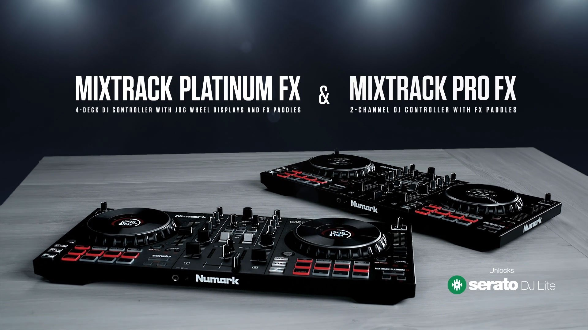 The Numark Mixtrack is back, in Pro FX and Platinum FX models 6