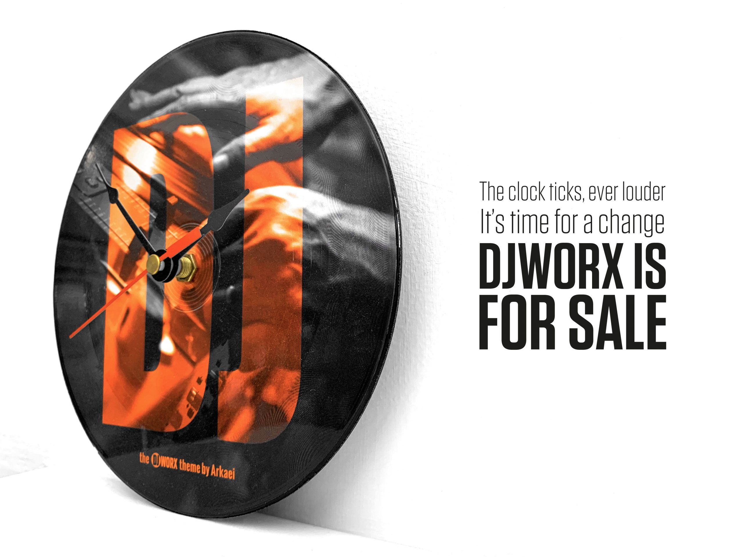 ANNOUNCEMENT: DJWORX is for sale 3