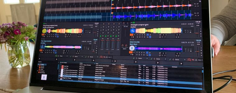 Mixxx 2.3 beta DJ software open source (2)