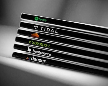Streaming tracks Beatport Spotify beatsource tidal