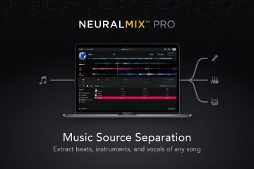 Algoriddim Neural Mix Pro Mac source separation software (15)