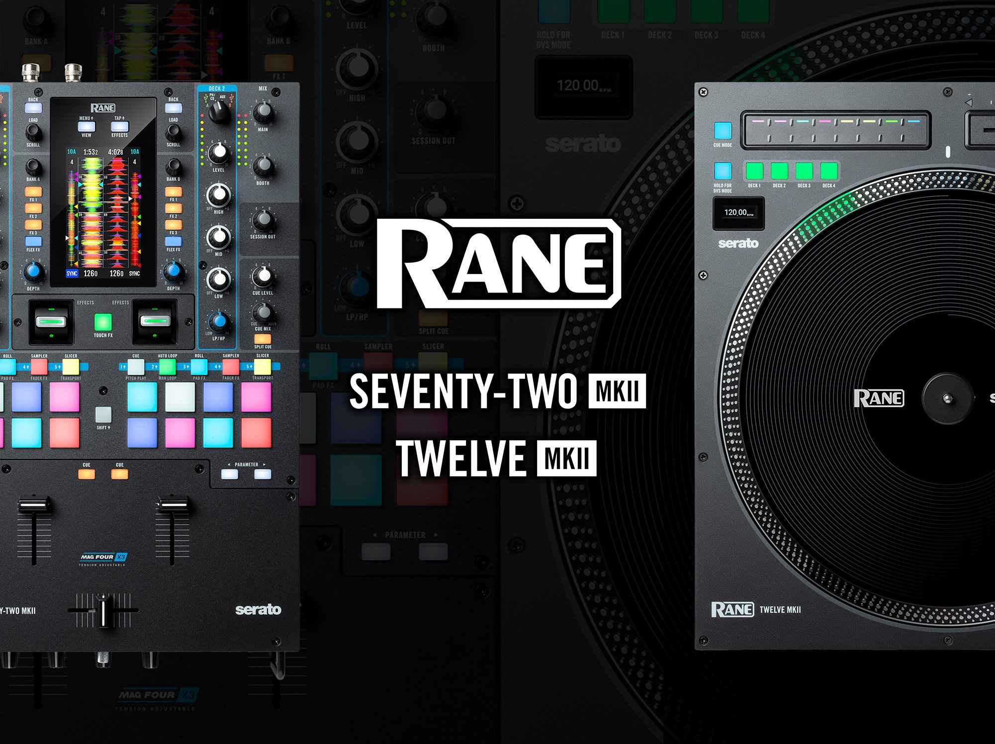 Rane SEVENTY-TWO MKII and TWELVE MKII for more than just Serato 5