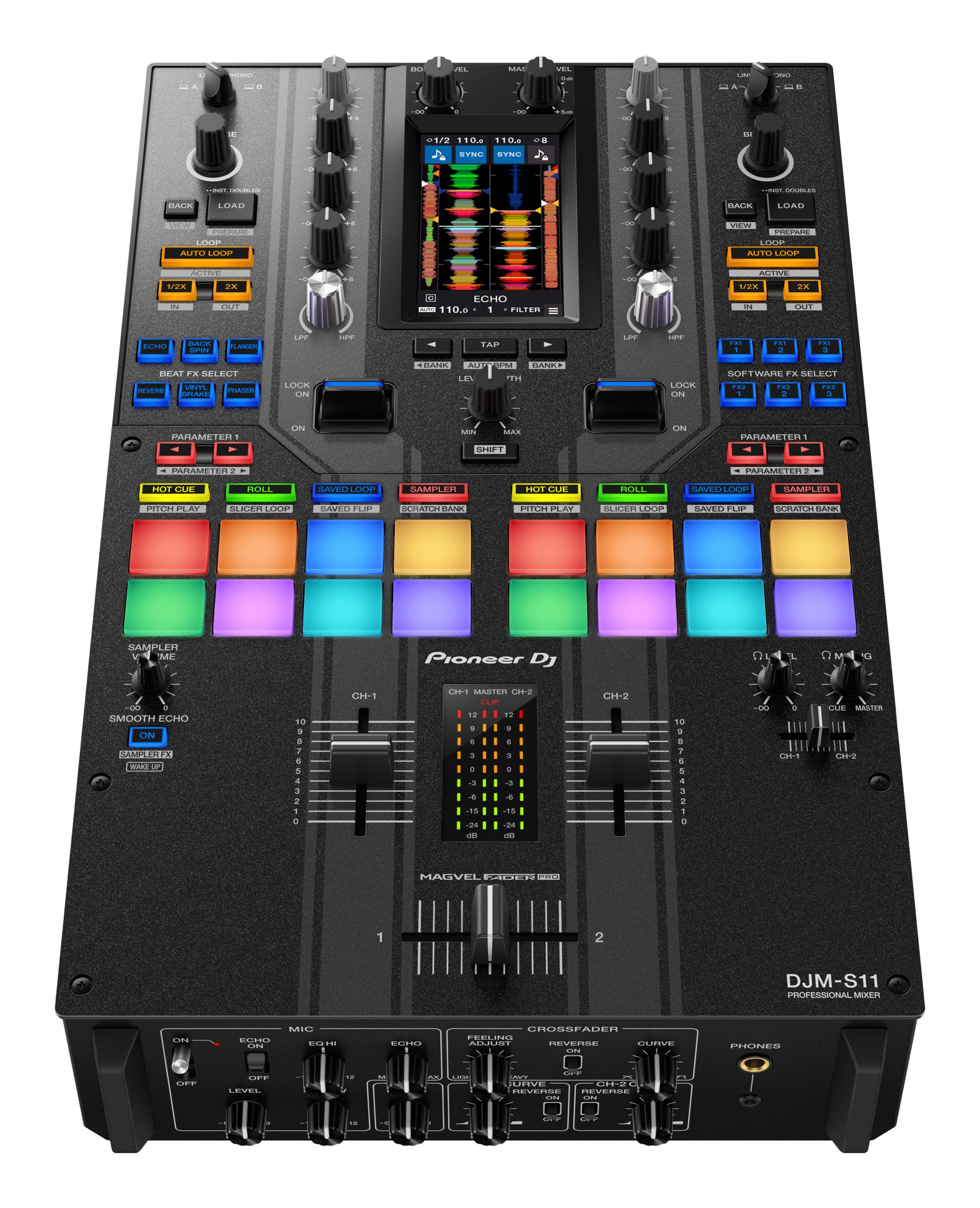 The Pioneer DJ DJM-S11 — some observations 4